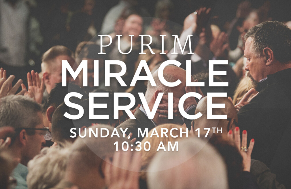 Purim Miracle Service